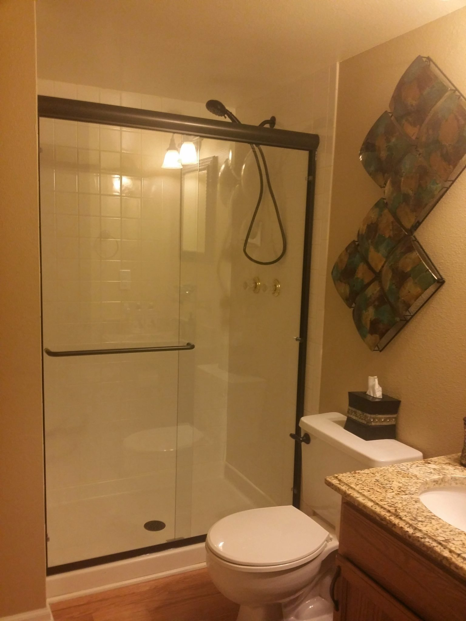 Frameless Shower Replacement
